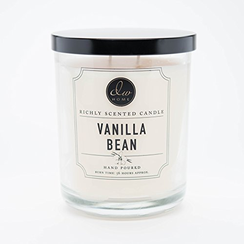 DW Home Large Double Wick Candle, Vanilla Bean -