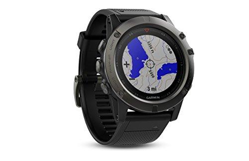 Garmin Fenix 5X Sapphire - Slate Gray with Black Band - Import It All