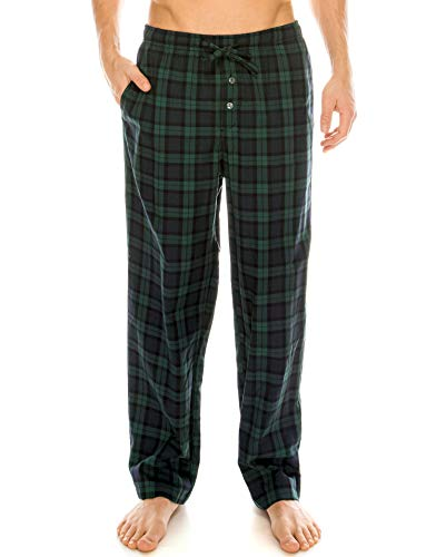 - TINFL Men's Lounge Cotton Pajama Pants PM-SB004-Green M