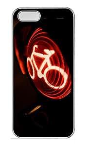 taoyix diy iPhone 5 5S Case Traffic Light PC Custom iPhone 5 5S Case Cover Transparent