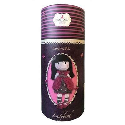 Gorjuss. Ladybird. Kit de Crochet