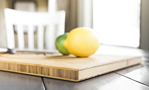 """Personalized by Name Bamboo Cutting Board Single Tone, Monogrammed Designs Available (Jenson Design, 11"""" x 17"""")"""