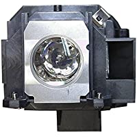 V7 ELPLP40, V13H010L40 Original Bulb Inside Replacement Lamp with Housing for EPSON Projectors EPSON EMP1810,EMP1815,EMP-1825, EB-1810, EB-1825, PowerLite 1810p, PowerLite 1815p, PowerLite 1825