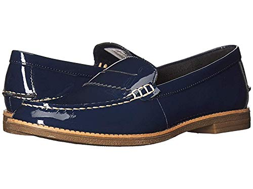 SPERRY Women's Waypoint Penny Navy Patent 7 M US