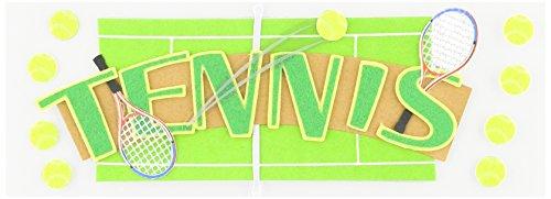 (JOLEES Boutique Title Wave Stickers-Tennis)