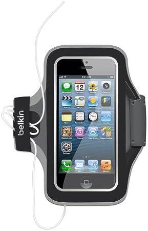 Belkin pour iPhone 6//6S Brassard en N/éopr/êne Slim-Fit Noir