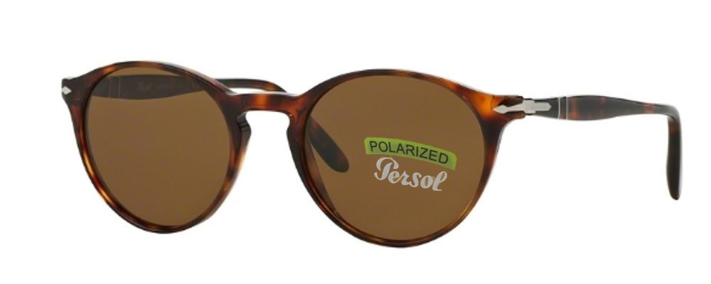 Persol Sunglasses 3092 (Brown Frame Polarized Brown Lens, Brown Frame Polarized Brown Lens)
