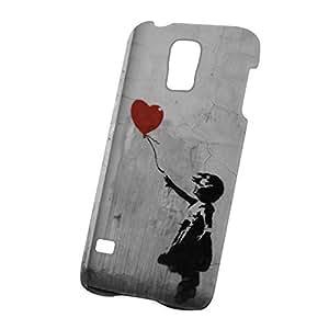 Case Fun Samsung Galaxy S5 (i9600) Case - Ultra Slim Version - Graffiti Balloon Girl