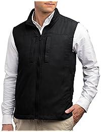 SCOTTeVEST Men's Featherweight Vest - 14 Pockets - Travel Clothing