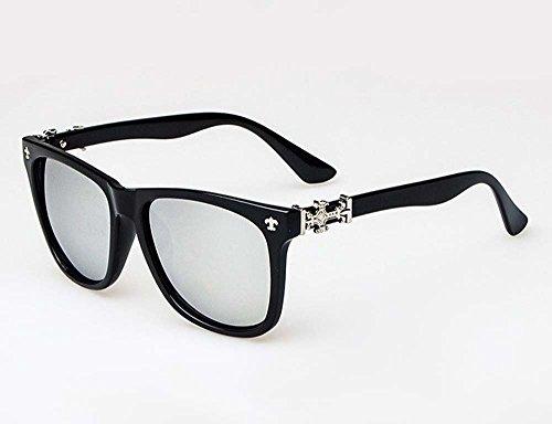 Arctic Star® Chrome Hearts glasses retro fashion sunglasses can be (Chrome Black Retro Glass)