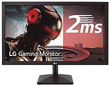 "LG 27MK400H-B - Monitor Gaming FHD de 68, 6 cm (27"") con Panel TN (1920 x 1080 píxeles, 16:9, 2 ms, 75Hz, 300 cd/m², 1000:1, NTSC >72%, D-SUB x1, HDMI x1) Color Negro Mate"