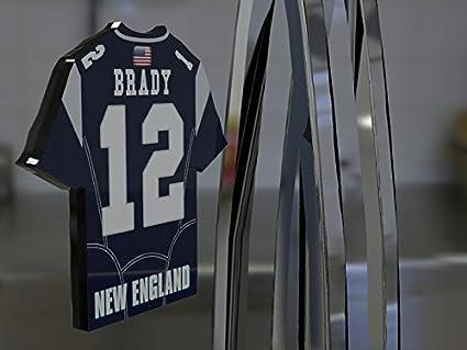 Imán personalizable con forma de camiseta de la liga de fútbol americano
