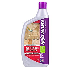 Rejuvenate All Floors Restorer Fills in Scratches – Protects & Restores Shine – No Sanding Required – 32 oz.