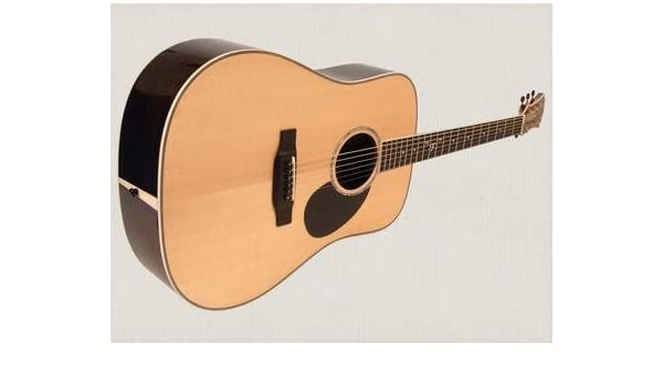 Freshman fa500d Dreadnought Guitarra Acústica, todo sólido: Amazon ...