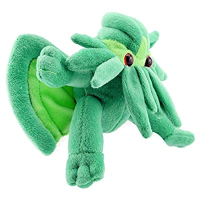 Toy Vault Mini Cthulhu Plush, 8-Inch; Stuffed Horror Toy Based on H.P. Lovecraft's Weird Fiction, Small Size: Toys & Games