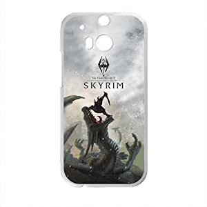 Warm-Dog Skyrim Fahionable And Popular Back Case Cover For HTC One M8