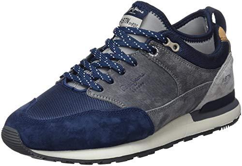 Pepe 595 BTN Treck Jeans Herren Navy Blau Pack Sneaker Har4H6xqw