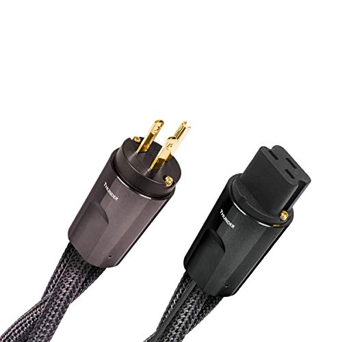 AudioQuest Thunder High Current 20 Amp Power Cable 1.0m - C19 END