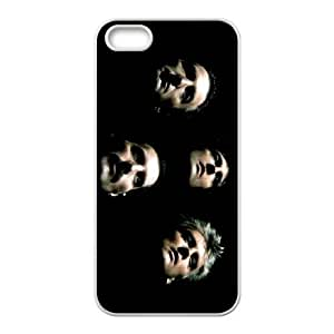 iPhone 4 4s Cell Phone Case White Queen Band qqvm