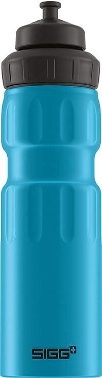 SIGG 0.6 Ltr Water Drink Bottle /& Sleeve Light Aluminium Outdoor Sport Cycling