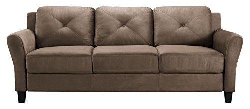 Lifestyle Solutions Harrington Sofa in Brown For Sale