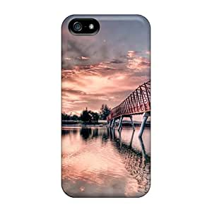 TinaMacKenzie Tjq19301ljlO Cases For Iphone 5/5s With Nice Metal Bridge Appearance