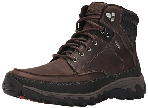 Rockport Men's Cold Springs Plus Moc Snow Boot- Brown-8  M