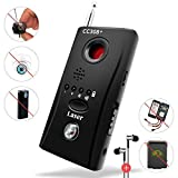 ADIERLIFE Bug Detector Anti-spy Bug Camera Laser RF Signal Detector Surveillance Audio Recording and RF Detector Ultra-high Sensitivity Anti Eavesdropping/Candid/GPS Tracker (Black)