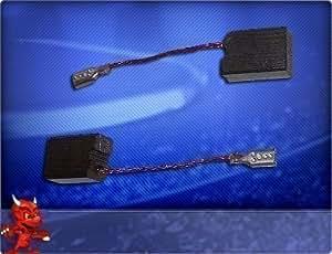 Escobillas de carbón compatibles con amoladora de ángulo Dewalt, modelos DW 824-QS (Tipo 3), D 28134, D 28139