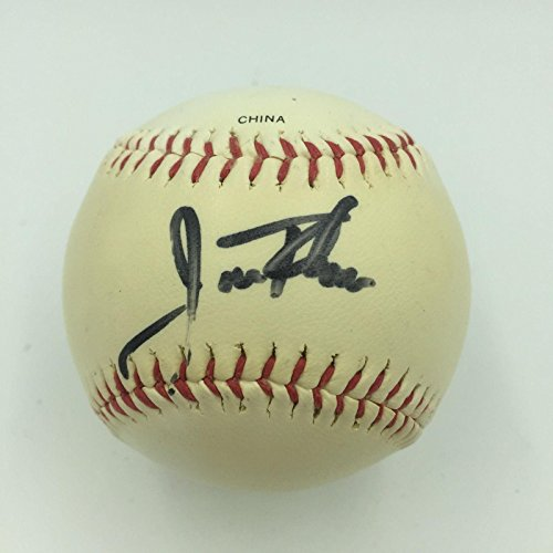 1990's Jim Thome Signed Official League Baseball With COA - JSA Certified - Autographed Baseballs ()