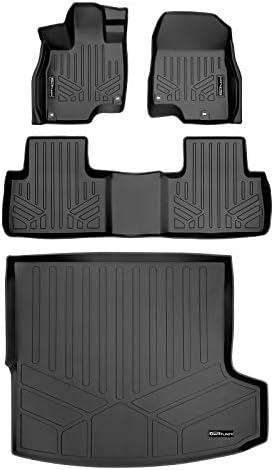 MAXLINER Custom Fit Floor Mats 2 Rows and Cargo Liner Trunk Set Black for 2019-2021 Acura RDX All Models