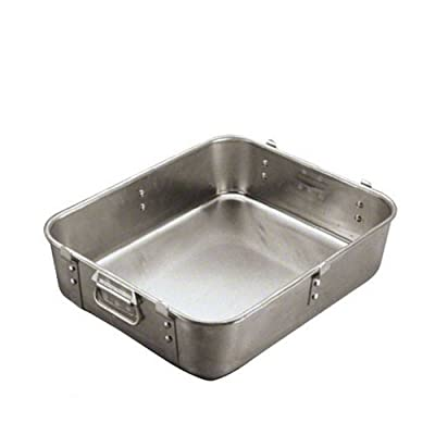 Vollrath 44821/2 Aluminum Wear-Ever Strapped Roast Pan Bottom, Rectangular, 20-Inch
