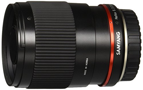 Samyang SY300M-FX-BK 300mm F6.3 Mirror Lens for Fuji X Mirrorless Interchangeable Lens Cameras