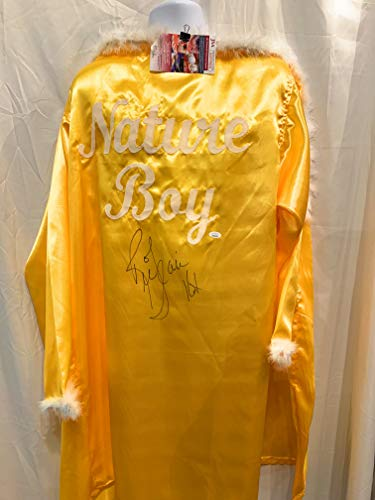 Ric Flair WWE Signed Autograph Wrestling Full Size Nature Boy Robe 16x Champ Inscribed JSA Witnessed Certified]()
