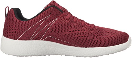Skechers Burst-Second Wind, Zapatillas para Hombre granate