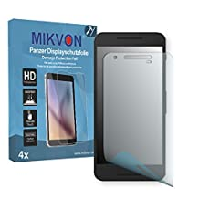 4x Mikvon Armor Screen Protector for LG Google Nexus 5X screen fracture protection film - Retail Package with accessories