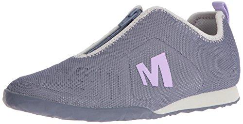 Merrell Womens Civet Zipper Fashion Sneaker Sleet