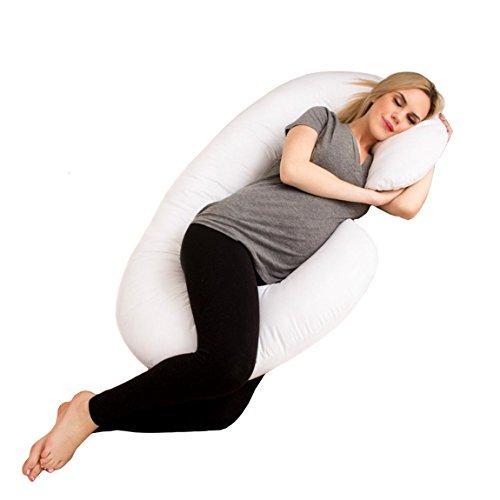 Almohada grande de embarazo y lactancia. Almohada de apoyo ...