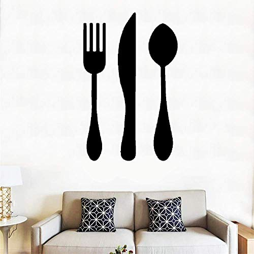 (Woauy Vinyl Peel and Stick Mural Removable Wall Sticker Decals French Set De Table Table Set)