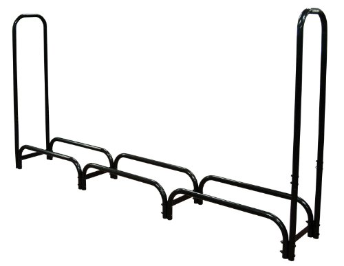 - Landmann 82443 Firewood Rack with Cover, 8-Feet, Black