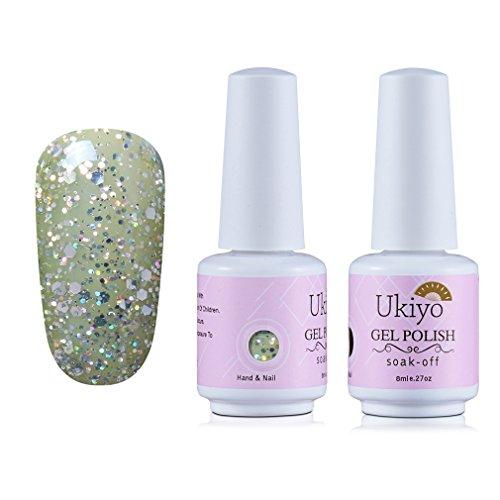 Ukiyo Gelpolish Soak Off UV LED Gel Nail Polish Varnish 8ML/