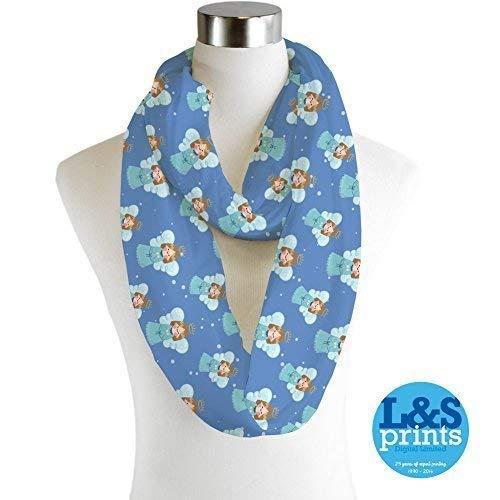 Infinity Scarf Jersey Or Chiffon Lichtenstein Design Unisex Fashion Loop Scarves