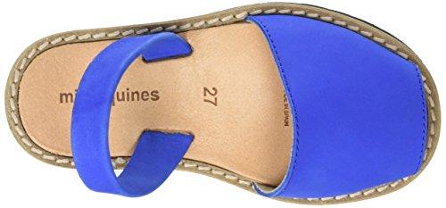 Minorquines Avarca - Sandalias de Talón Abierto Unisex Niños Azul (Bleu Océan)