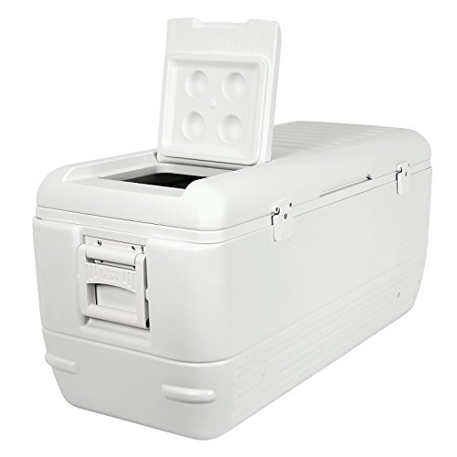 Igloo Quick and Cool Cooler (150-Quart, White)