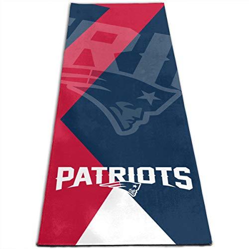 Dalean New England Patriots Anti-Slip Grip Pilates Pad, Yoga Mat, Body Alignment System, Anti-Tearing, 70.8