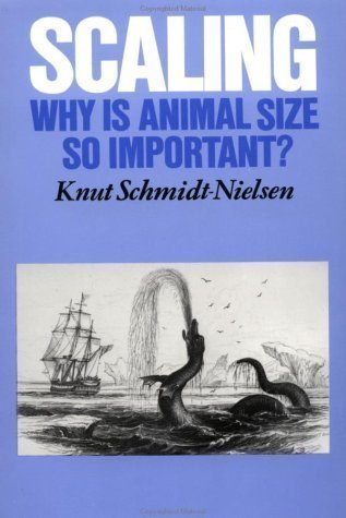Scaling: Why is Animal Size so Important? 1st (first) Edition by Schmidt-Nielsen, Knut (1984) PDF