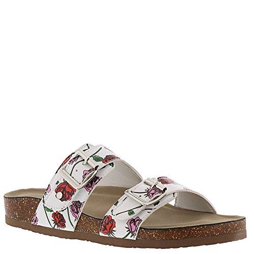 Madden Girl Women's Brando-J Slide Sandal, Floral Multi, 8 M US ()