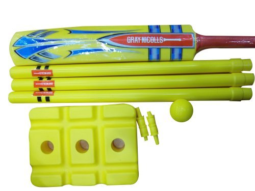 Gray-Nicholls Unisex Adult Beach Cricket Set - Yellow by Gray-Nicolls by Gray-Nicolls