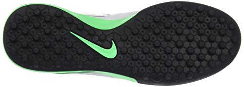 Nike Tiempox Proximo Tf, Botas de Fútbol para Hombre Varios colores (Pure Platinum / Black-Electro Green-White)