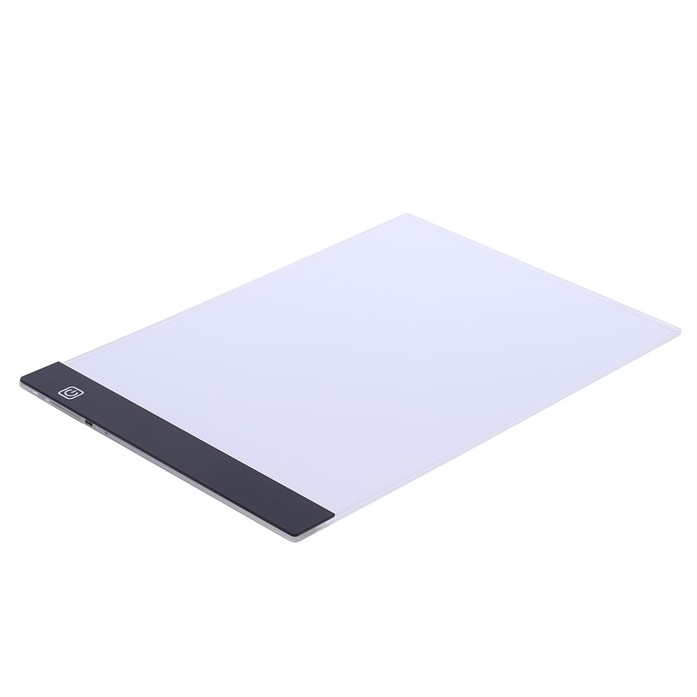 A4 LED Light Box Drawing Board - BESTGIFT Tracing Board USB Power Ultra-Thin Digital Tablet Brightness Adjustable Pad Copy Table for Artist by BESTT (Image #3)